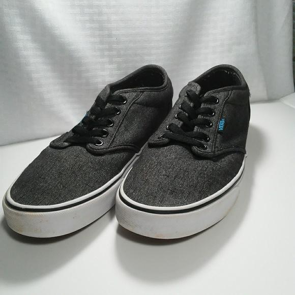 7701dd31c9 Mens gray Vans lace up shoes size 10. M 5b26b6119539f7d6c99e6e91